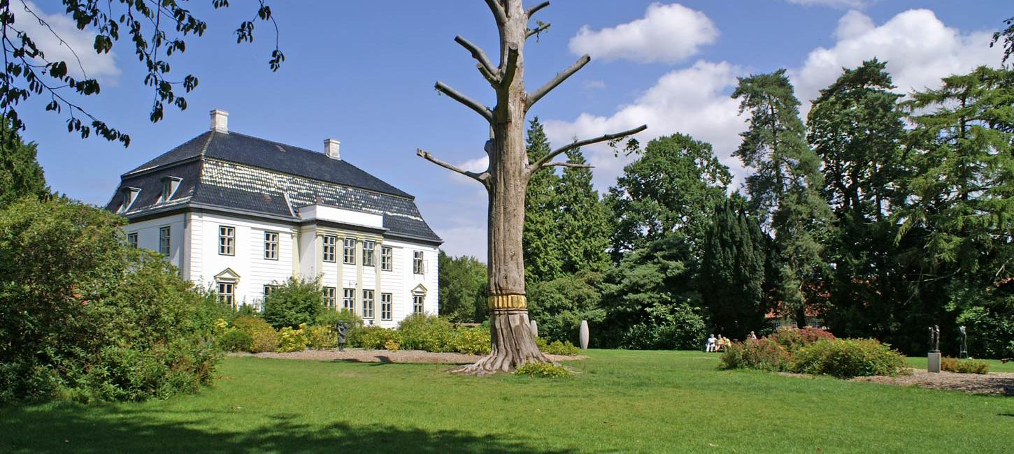Augustiana Art-park and Art-hall in Augustenborg on island Als