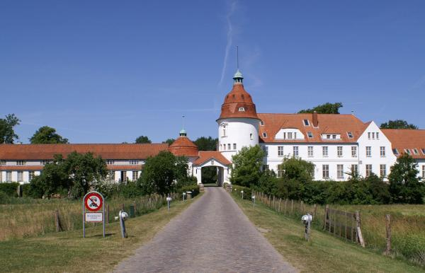 Nordborg Castle - Entrance to the first castle built on island Als in the Sønderborg-area