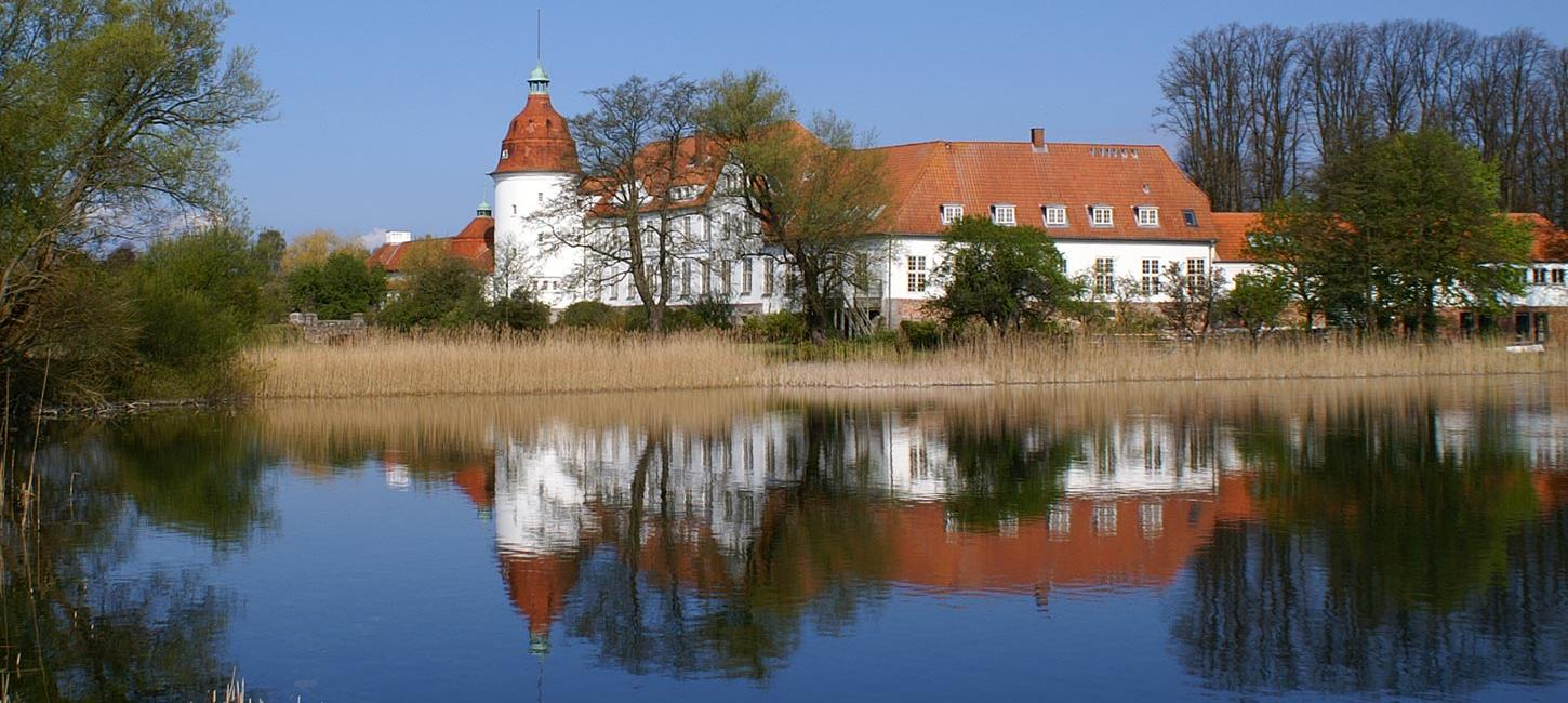 Nordborg Castle - the first castle built on island Als in the Sønderborg-area