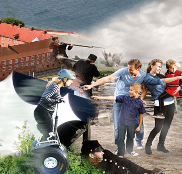 Star-attractions on the island Als and in the Sønderborg-area